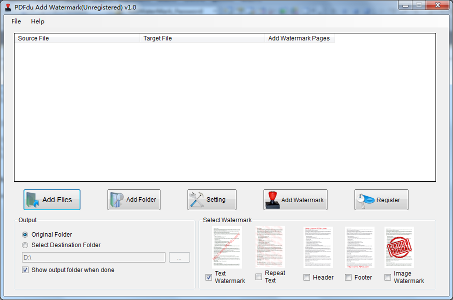add text and image watermark to PDF .